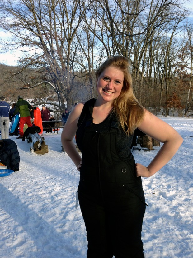 Sledding Date | Not Your Average Dairy Queen