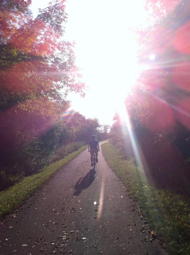Neighborhood Bike Ride| Beauty and Blooms