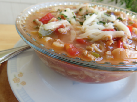 White Bean Turkey Chili | Beauty and Blooms