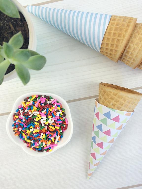 Ice-Cream-Cone-Printable