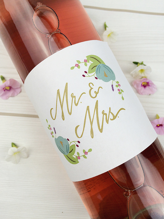 Wedding-Wine-Lable