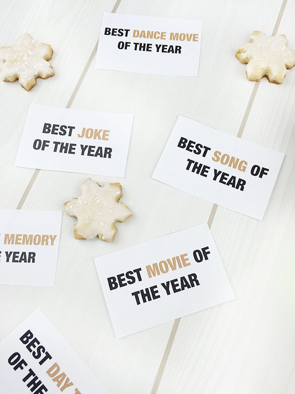 "New Year's Eve Part: ""Best of"" 2015 Cards"