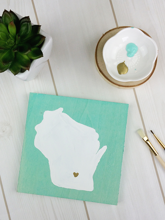 DIY Stained Wood Art