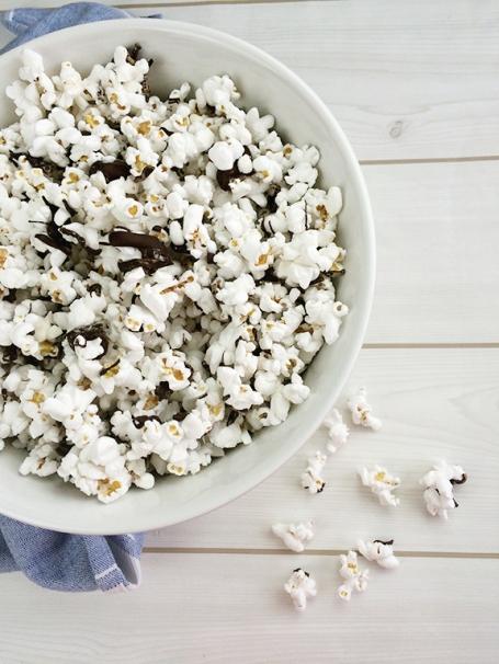 Dark Chocolate Sea Salt Popcorn