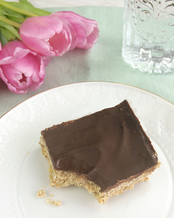 No-Bake Cookie Bars
