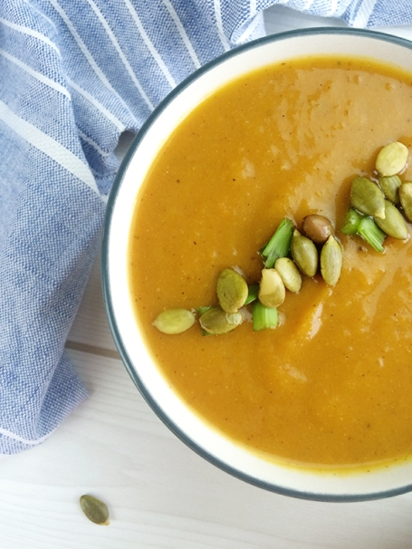 Roasted Butternup Squash Soup