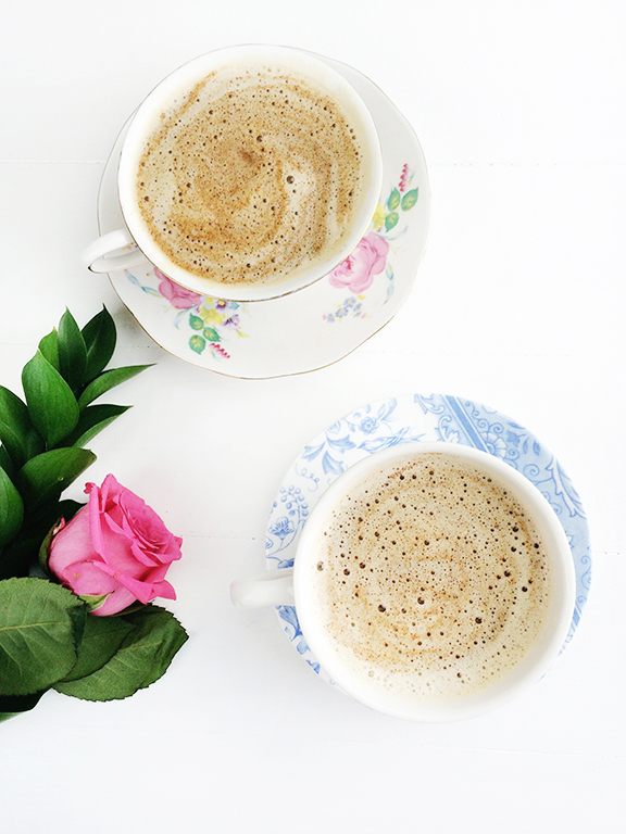 Almond Milk Chai Tea Latte