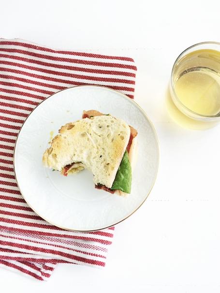 Titletown Turkey Club Sandwich