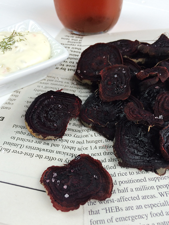 Beet Chips