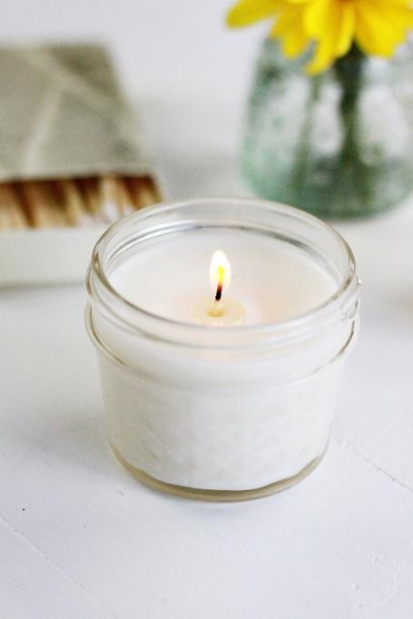DIY Aromatheraphy Candles