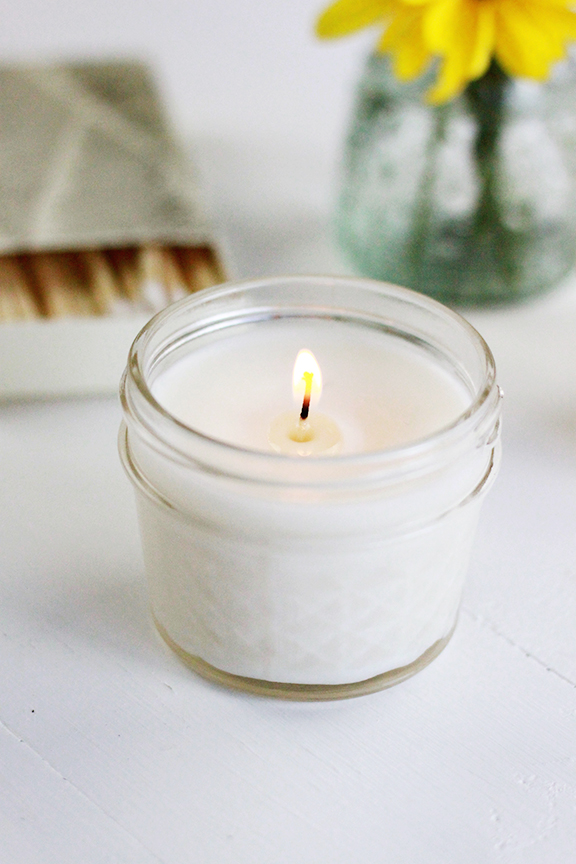 DIY Aromatheraphy Candles