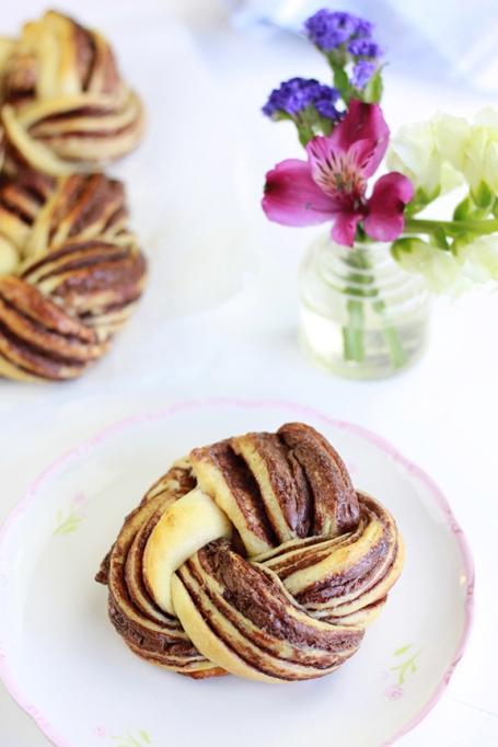 Nutella Brioche Swirls!