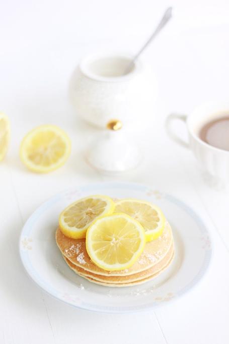 Lemon Sugar Pancakes