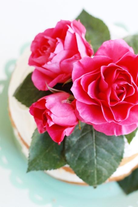 Mini Floral Cake