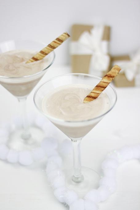 Frozen Hot Chocolate Martini