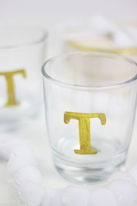 Anthropologie Inspired DIY Monogram Tumbler