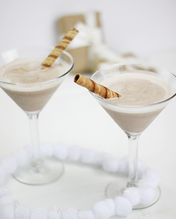 Frozen Hot Chocolate Martini