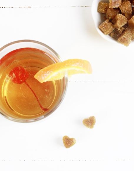 Heart Shaped Brown Sugar Cubes