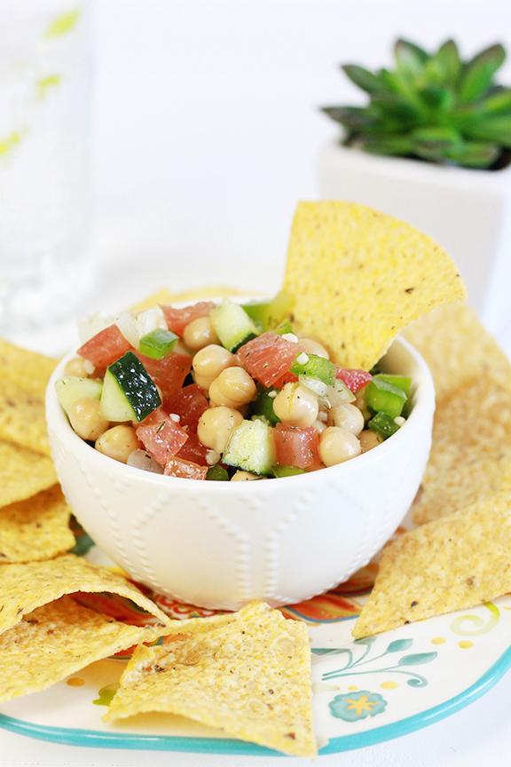 Chickpea Salsa