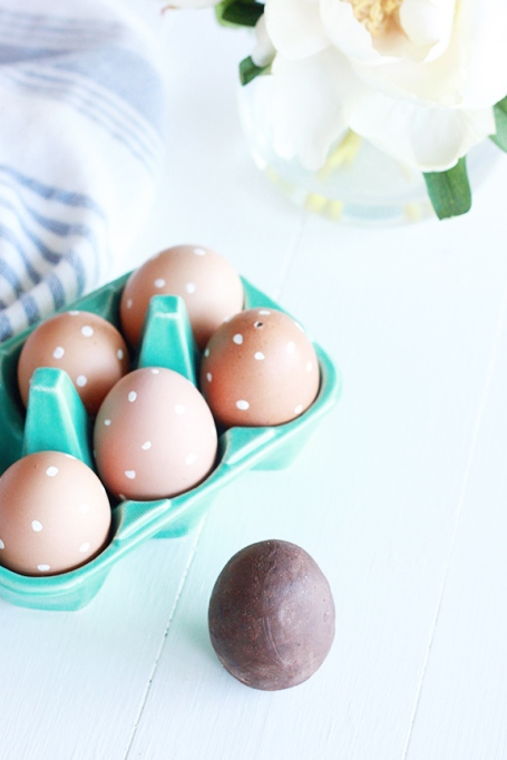 Chocolate Filled Easter Eggs