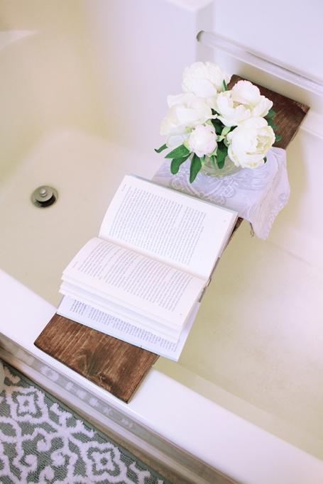DIY Bath Tray