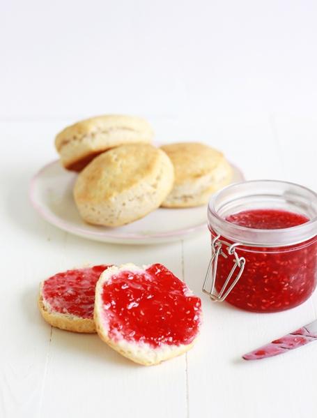 Raspberry Orange Freezer Jam