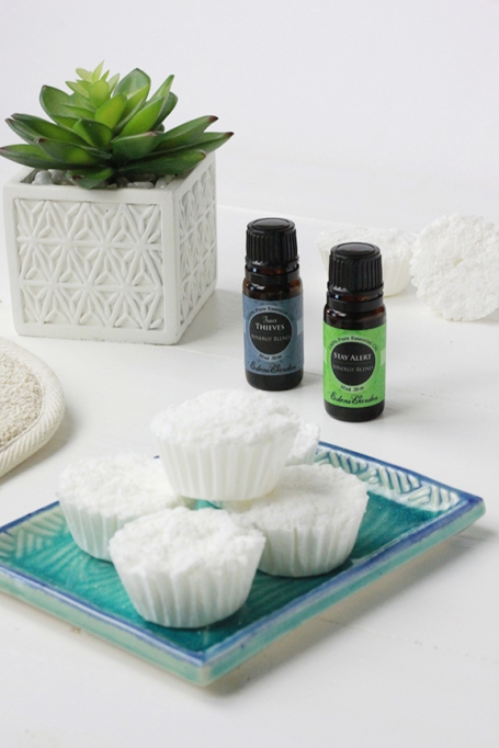 DIY Essential Oil Shower Steamers