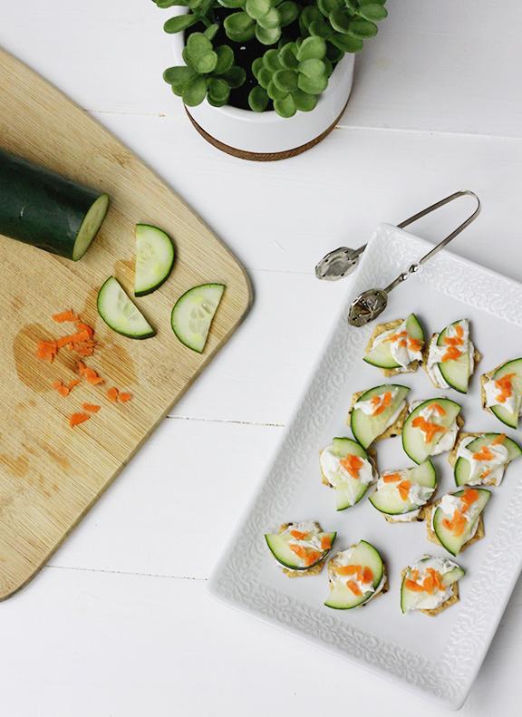 Veggie Cracker Bites