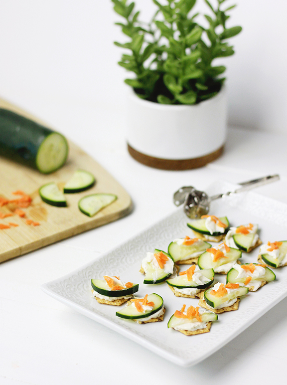 Veggie Cracker Bites