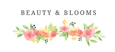 Beauty and Blooms Blog Header